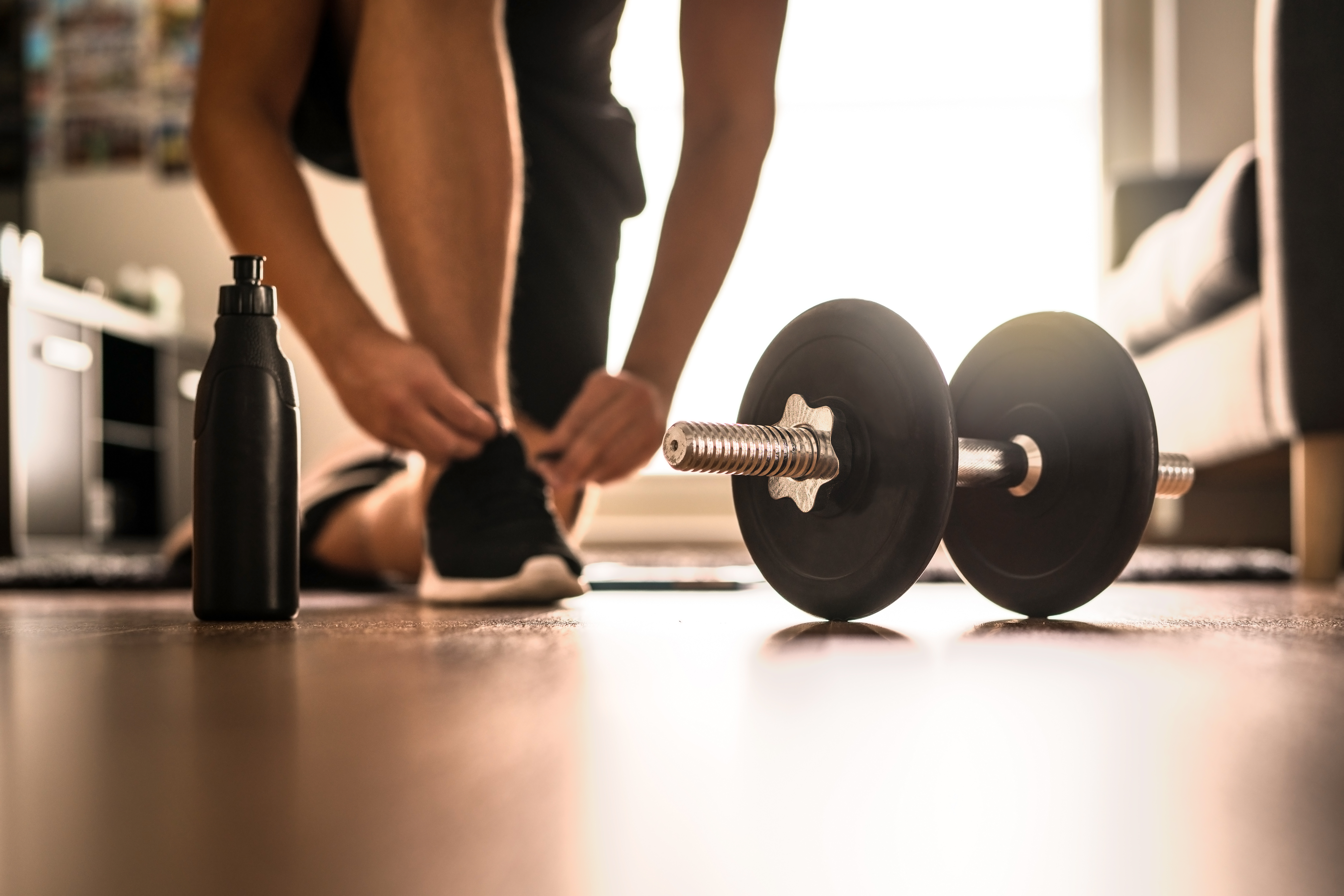 Two Tips For Safe Training At Home